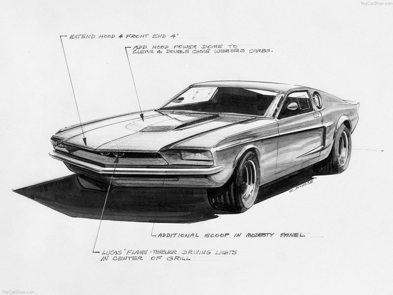 ������� ��� FORD MUSTANG MACH 1 1966 ����
