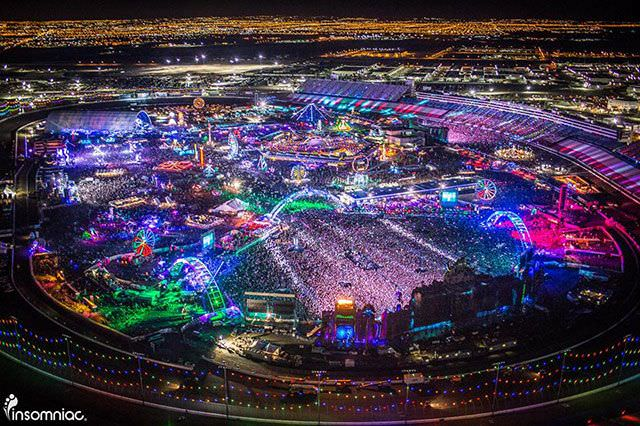 Electric Daisy Carnival в Лас-Вегасе