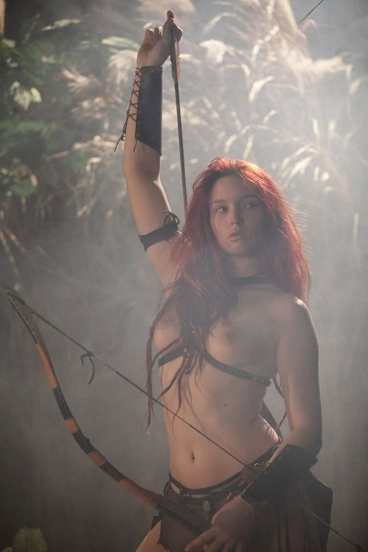 Epic warrior girls boobs smut gallery