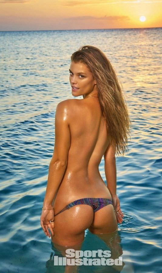 Нина Агдал для Sports Illustrated