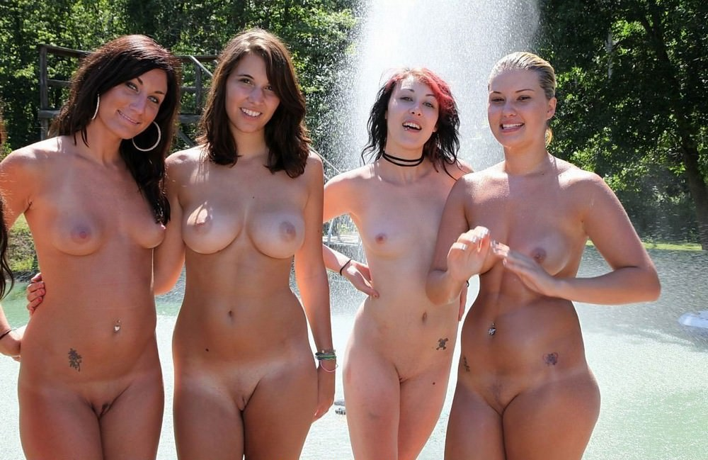 NudeHotAngels - Nude Girls Gone Wet tight pussy, big boobs, sexy ass.